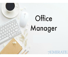 Office Manager Required for Lawyers & Legal Consultants Office in Abu Dhabi