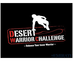 2 Entry Tickets to Desert Warrior Challenge in Dubai