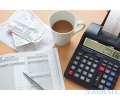 Required an accountant for brand electromechanical works LLC in Dubai