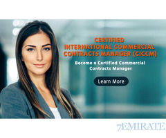 Become Commercial Contract Manager Sharjah