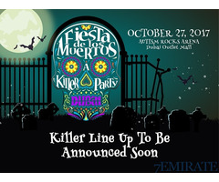 Regular Standing tickets for Fiesta de Los Muertos 2017 for Sale in Dubai