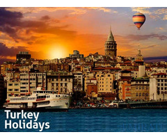Holiday Package from Dubai to Turkety