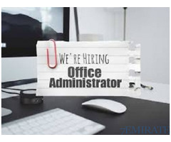 Walk in Interview for Office Administrator Required Urgently in Dubai