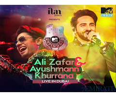 Discounted tickets for MTV INDIA UNPLUGGED for Sale in Dubai