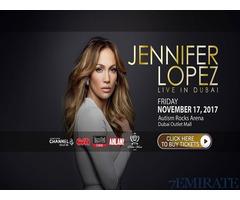 Tickets for Jennifer Lopez JLO Concert in DUBAI