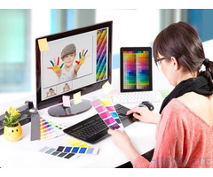 Female Graphic Designer Required for Site Global Media in Dubai