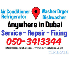 Ac Fridge Service Repair and Gas Filling in Low Cost Price in Dubai