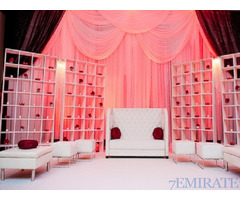 WEDDING STAGE,KOSHA,INDIAN,PAKISTANI,DESHI DECORATIONS SERVICE