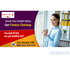 Fitness Checkup At 50% Less Than Market Price