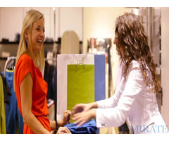 We are looking for European Female Sales person for Fashion Company store