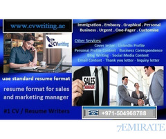 +971504968788 resume format for sales and marketing manager in UAE