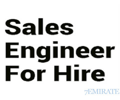 Sales Engineer Required for Gulf Landscaping Company in Dubai
