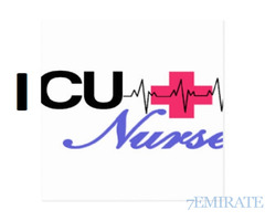 ICU Nurse Required for Najma Consultancy in Dubai