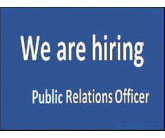 Public Relation Officer Required for Company in Dubai