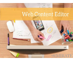 Web content Editor Required for Mindpool Technologies in Dubai