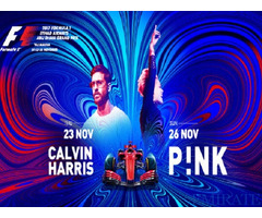Tickets for Thursday Pit Lane Walk + Calvin Harris concert in Dubai
