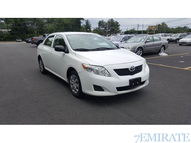 2009 toyota corolla for sale by abu dhabi 7emirate best place to buy. Black Bedroom Furniture Sets. Home Design Ideas