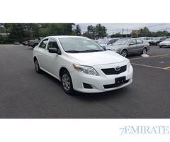 2009 Toyota Corolla for sale by usacarsexporter.com
