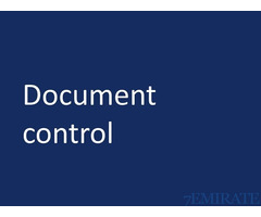 Female Document Controller Required for Company in Abu Dhabi