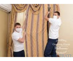 curtains blinds cleaning services without Remove Dubai sharjah -0502255943
