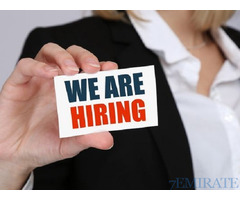 Sales Representative and Cashier Required for Ras Al Khaima