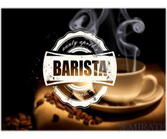 We are looking for Barista for upcoming coffee shop concept in Dubai