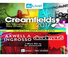 Creamfields ticket for Sale  in Dubai