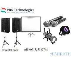 AV Rental in Dubai | AV Rental Services in Dubai,UAE