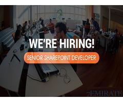 Senior Sharepoint Developer Required for Swedish Technology in Dubai