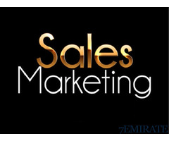 Sales & Marketing Executive Required for megapixel llc in Dubai