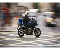 Motorcycle driver Required for GarfieldEats in Dubai