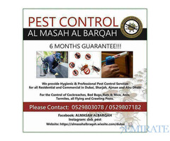 PEST CONTROL SERVICES DUBAI MUNICIPALITY APPROVED COMPANY