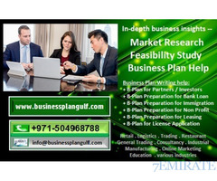 971504968788 Market Research and Business Plan Help in UAE, GCC