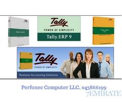 Tally ERP 9.0 Software- VAT complaint Software,  Perfonec, UAE- 043866199