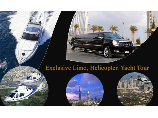 Halicopter Trip for Dubai in Affordable price