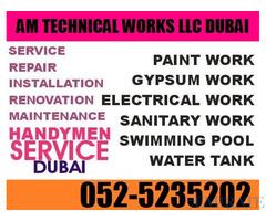 Electrical Work , Plumbing and Swaimming Pool Cleaning Work in Dubai