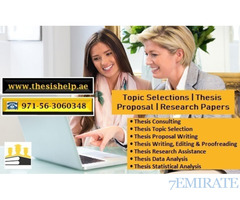 Thesis Writers in UAE 971563060348 Topic Selections  Thesis Proposal