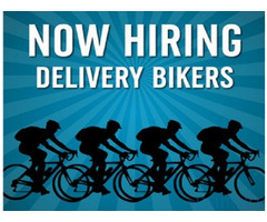 Urgent requirement for Delivery bikers for Benelli Caffe in Dubai