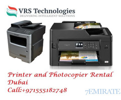 Printer Rental Dubai - Photocopier for Rent Dubai