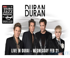 Duran Duran General Admission Tickets for 21st Feb for Sale in Dubai