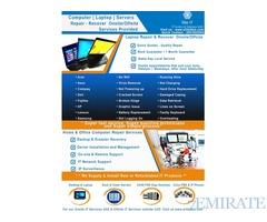 Computer-Laptop IT Services Dubai Marina, Meadows, Springs, Arabian Ranches