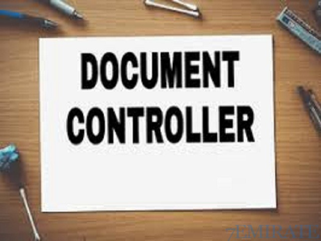 Document Controller Required for MEP contracting company in