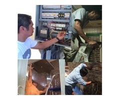 Electrical repair, plumbing repair and installation 0567837770