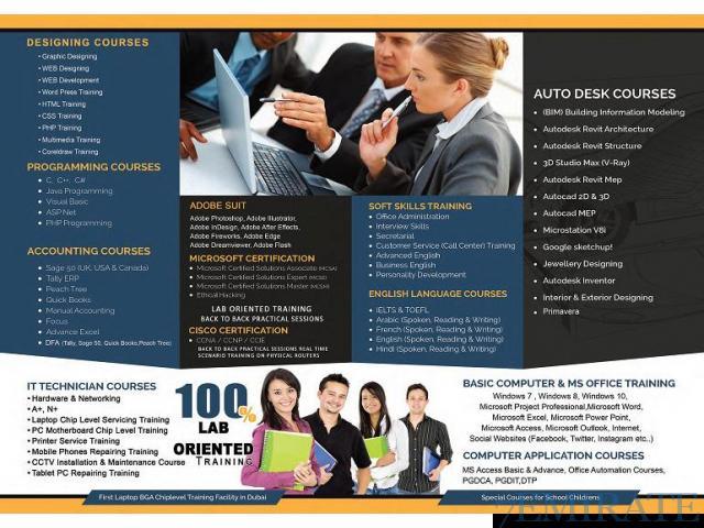 Professional Training Center for Computer Courses in Dubai Dubai