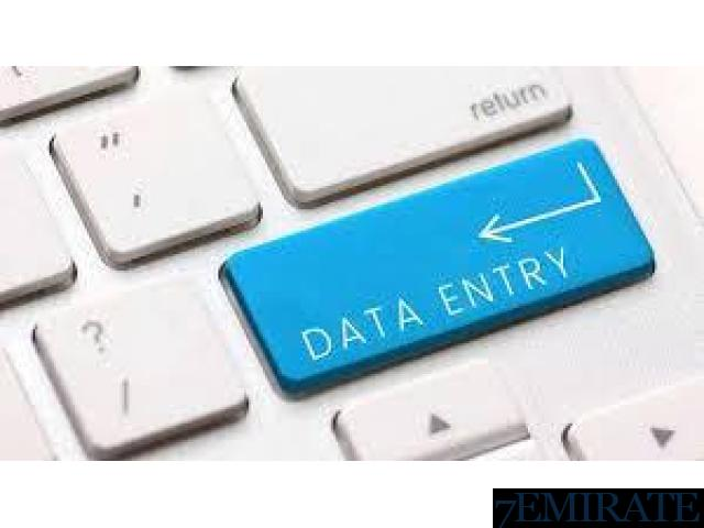 Data Entry Operator Required IN DUBAI PLEASE CALL US Dubai