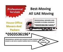 MOVER AND PACKER IN DUBAI 0503536196