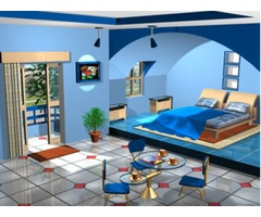 Autocadd Drawing and 3ds Max Design for Interior Design