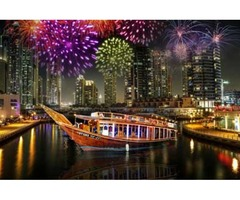 Enjoy New Year Evening in Dhow Cruise