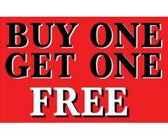 Buy One Get one Free Voucher