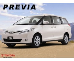 7 Seater Toyota Previa Available for Rent and Trips